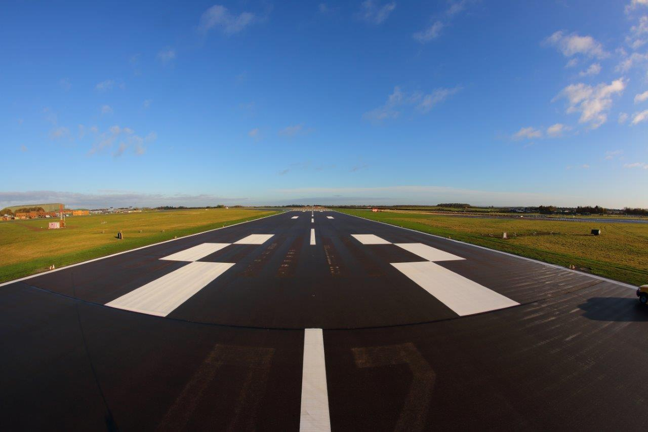 RAF Waddington Runway